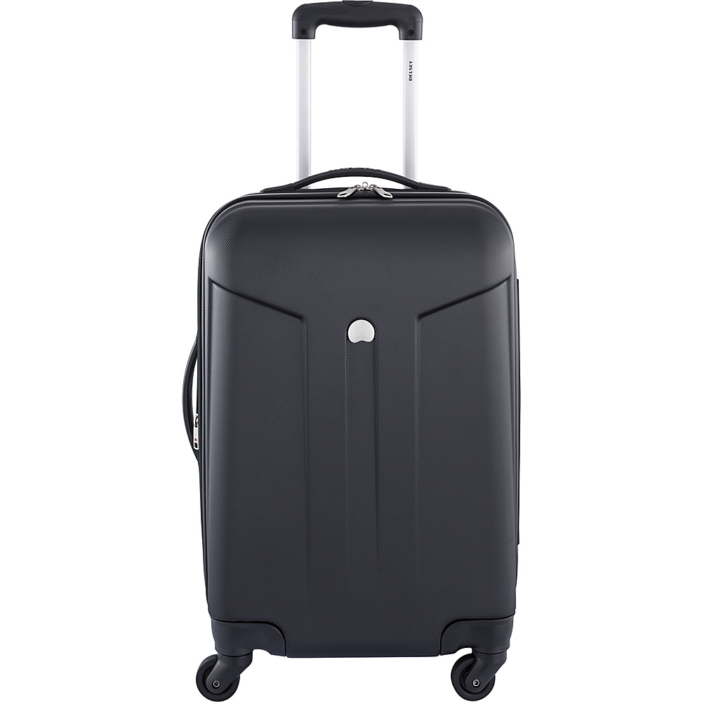 Delsey Comte 21 Expandable Hardside Spinner Carry On Black Delsey Hardside Carry On