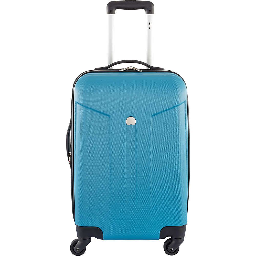 Delsey Comte 21 Expandable Hardside Spinner Carry On Teal Delsey Hardside Carry On