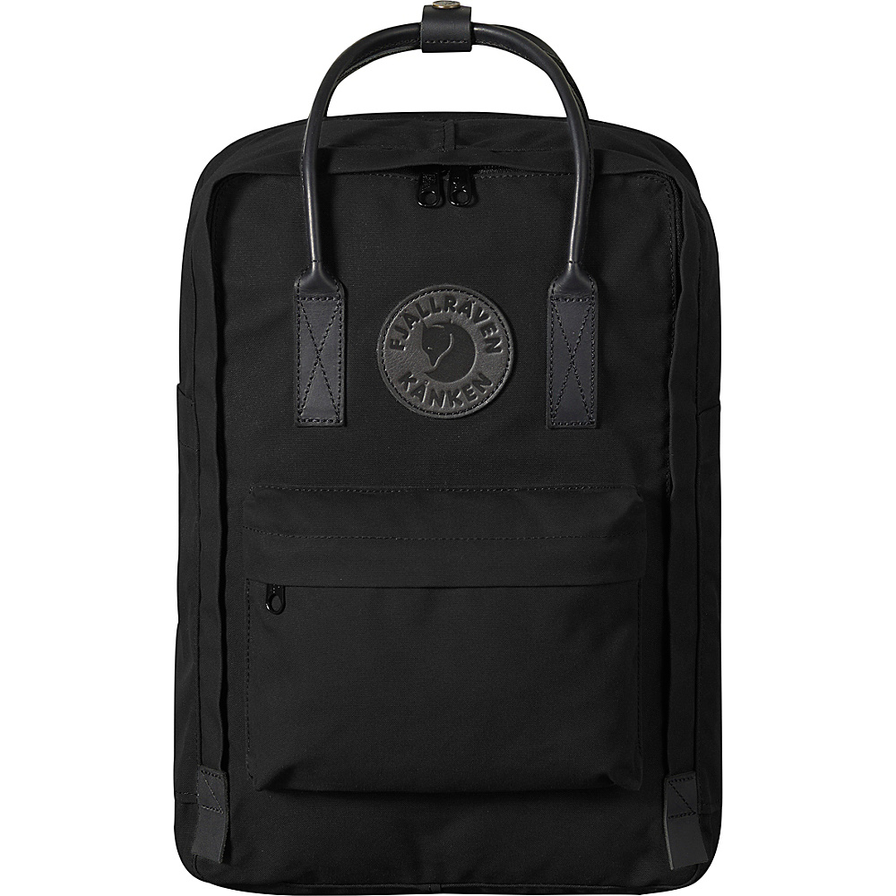 Fjallraven Kanken No. 2 Backpack Black - Fjallraven Everyday Backpacks - Backpacks, Everyday Backpacks