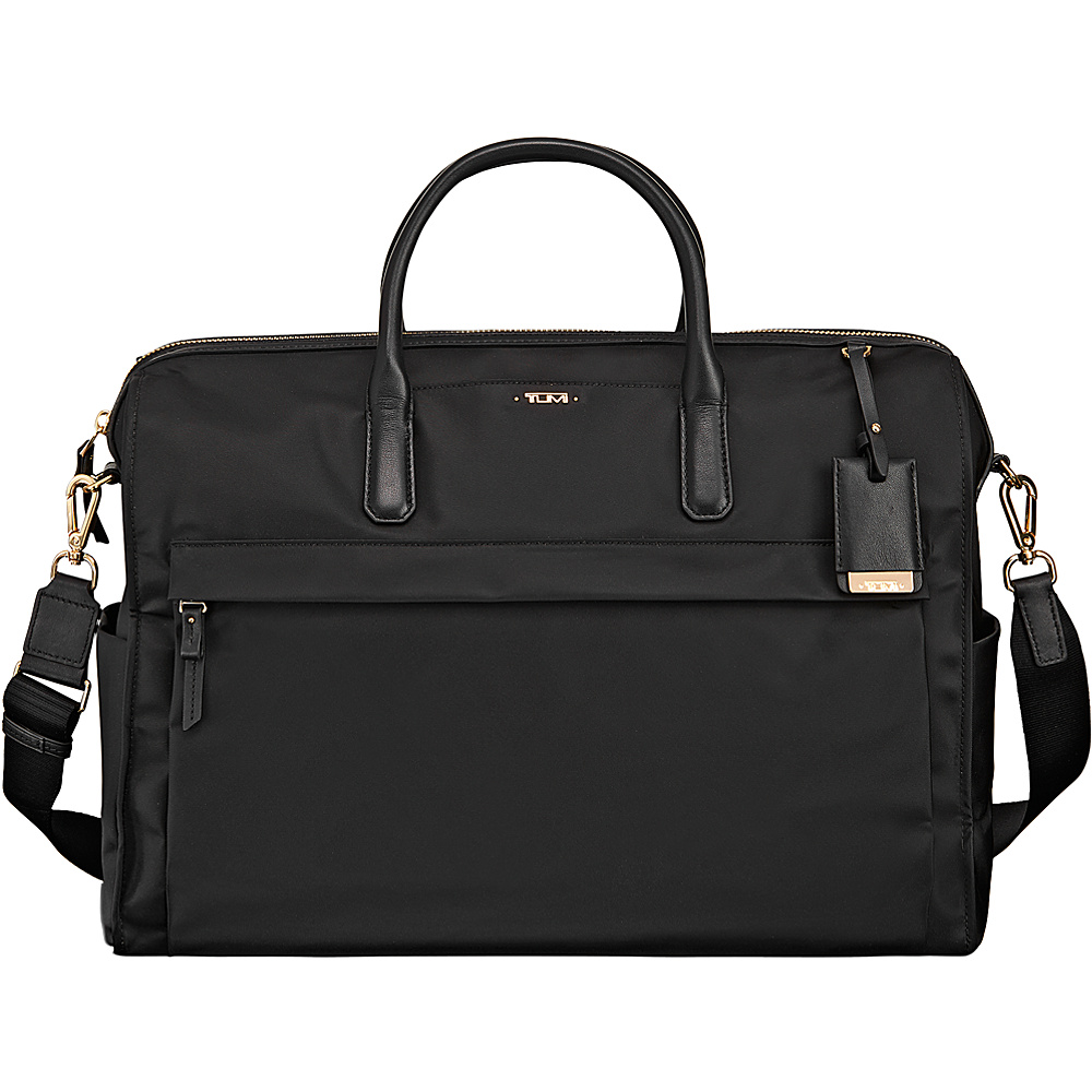 Tumi Voyageur Dara Carry-All Black - Tumi Luggage Totes and Satchels