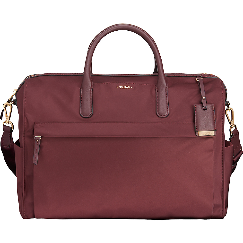 Tumi Voyageur Dara Carry-All Merlot - Tumi Luggage Totes and Satchels