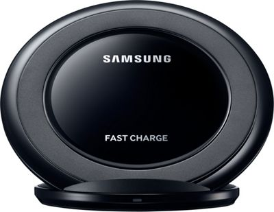 Samsung - C2 Wireless Charging Pad For Galaxy S6 Black - Samsung - C2 Portable Batteries & Chargers