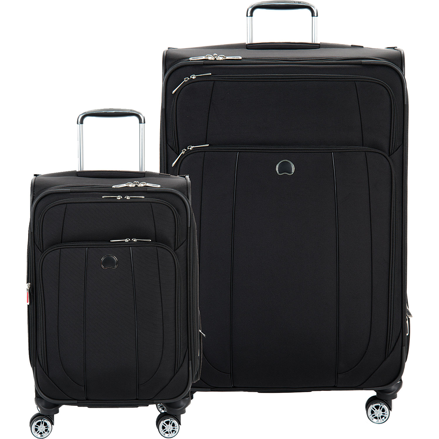 delsey helium cruise 21 inch and 29 inch spinner luggage set. Black Bedroom Furniture Sets. Home Design Ideas