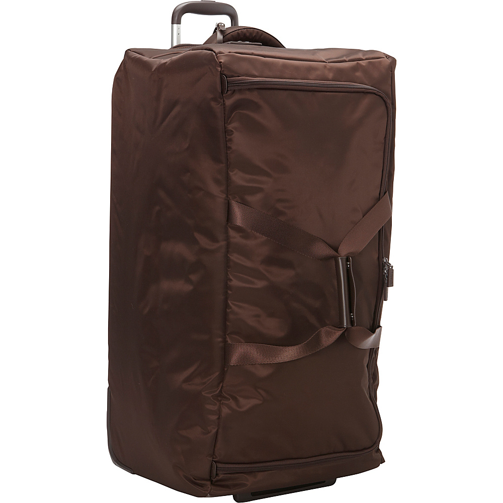 Lipault Paris Foldable 2 Wheeled 30 Duffle Discontinued Colors Espresso Lipault Paris Rolling Duffels