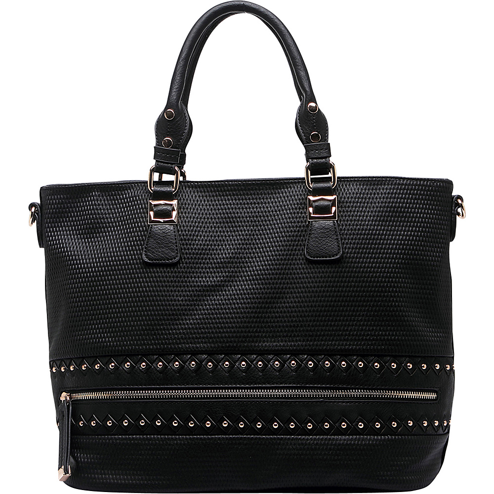 MKF Collection by Mia K. Farrow Greenwich Handbag Black - MKF Collection by Mia K. Farrow Manmade Handbags - Handbags, Manmade Handbags