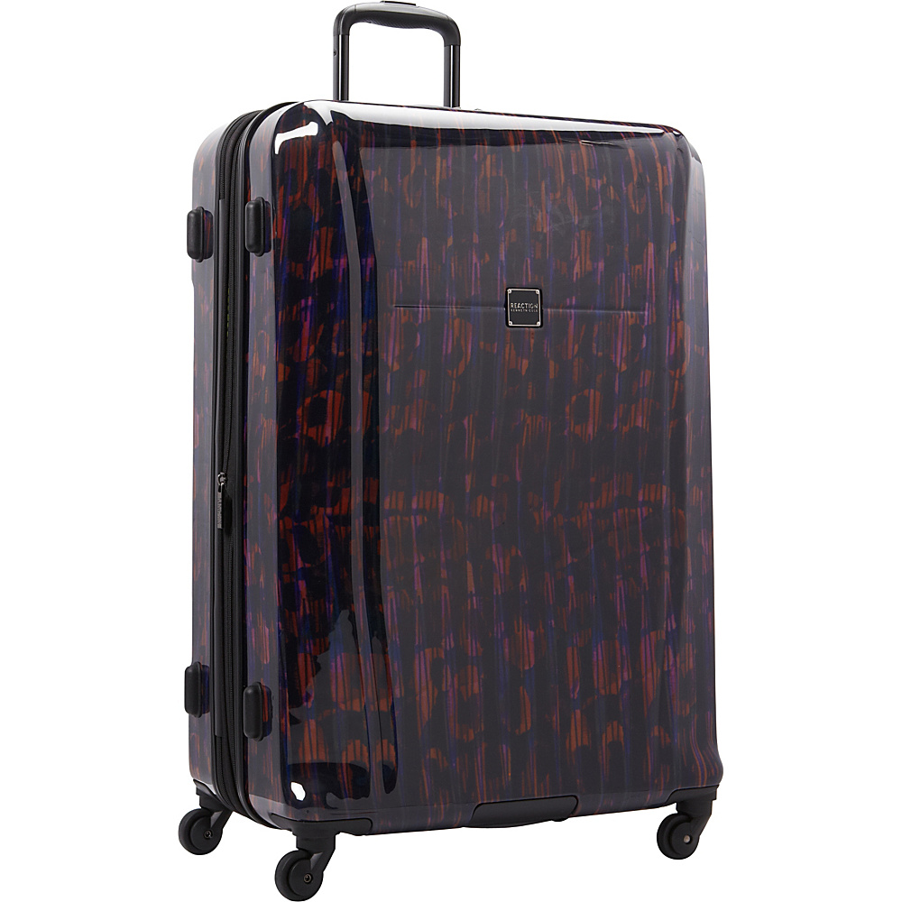 """Kenneth Cole Reaction The Real Collection 28"""" Checked Luggage Warm Red - Kenneth Cole Reaction Hardside Checked"""