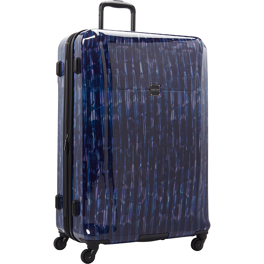 """Kenneth Cole Reaction The Real Collection 28"""" Checked Luggage Cool Blue - Kenneth Cole Reaction Hardside Luggage"""