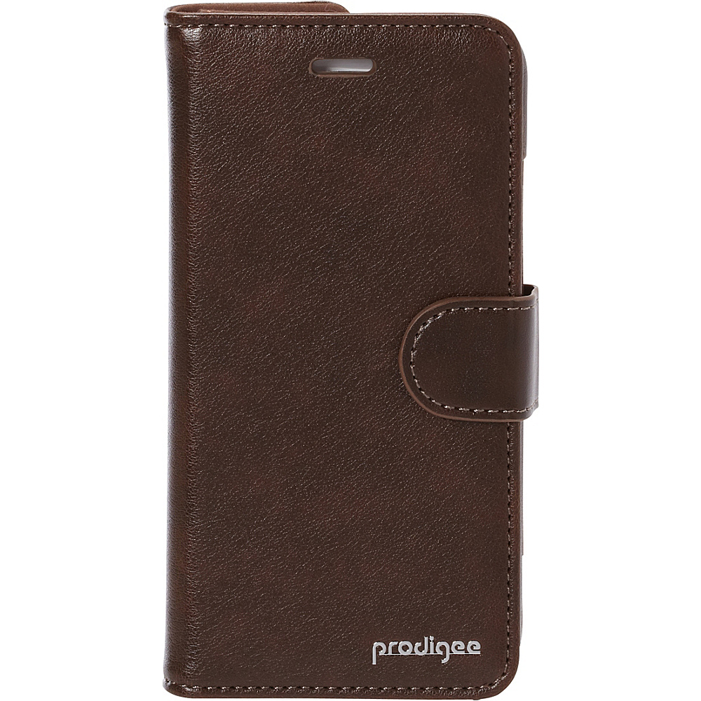 Prodigee Wallegee Case for iPhone 6 6s Brown Prodigee Electronic Cases