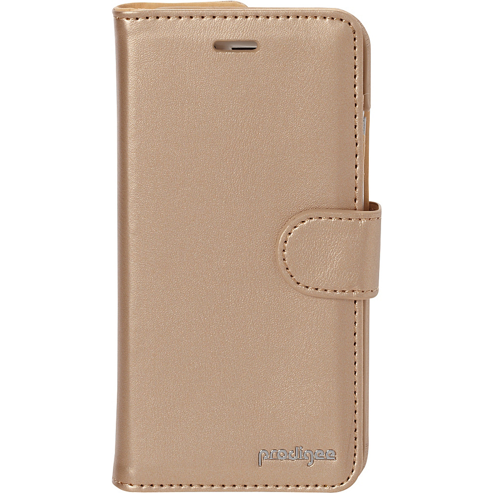 Prodigee Wallegee Case for iPhone 6 6s Gold Prodigee Electronic Cases