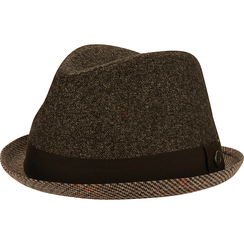 Ben Sherman Wool Trilby Hat Black - L/XL - Ben Sherman Hats/Gloves/Scarves