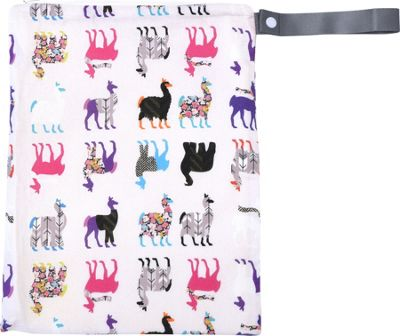 Itzy Ritzy Travel Happens Sealed Wet Bag with Handle Llama Glama - Itzy Ritzy Diaper Bags & Accessories