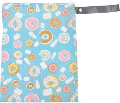 Itzy Ritzy Travel Happens Sealed Wet Bag with Handle Donut Shop - Itzy Ritzy Diaper Bags & Accessories