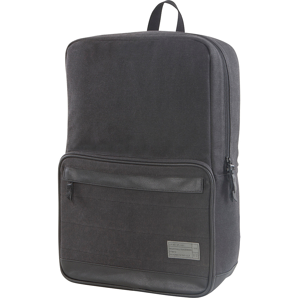 HEX Origin Canvas Backpack Supply Charcoal HEX Business Laptop Backpacks