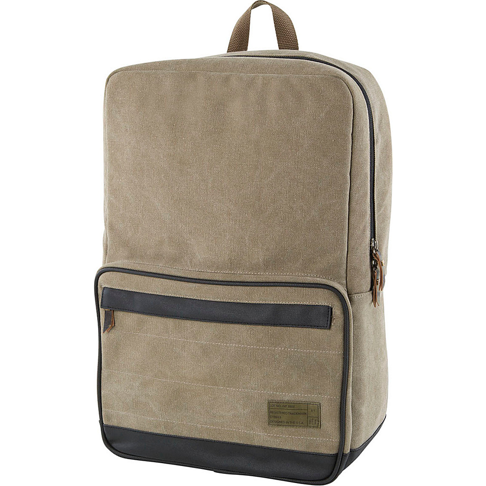 HEX Origin Canvas Backpack Infinity Khaki HEX Business Laptop Backpacks