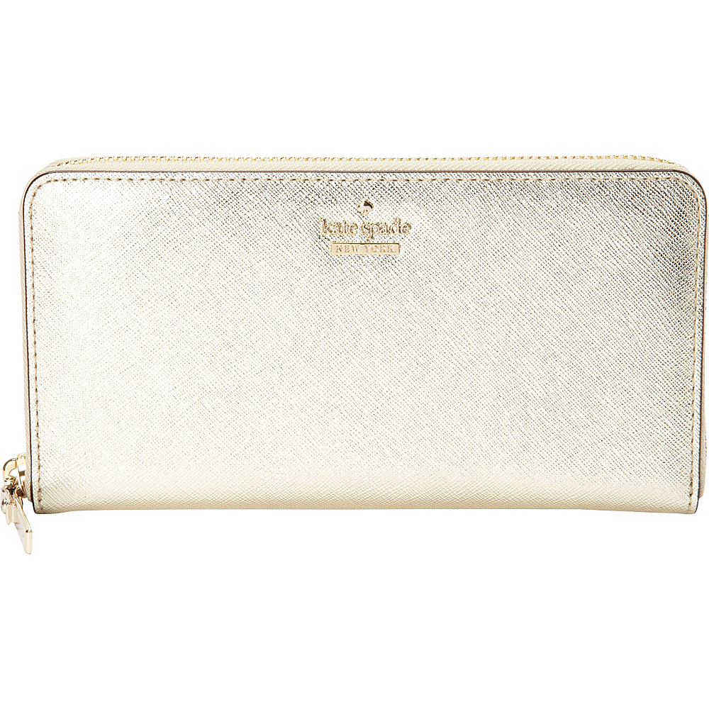 kate spade new york Cameron Street Lacey Gold kate spade new york Women s Wallets