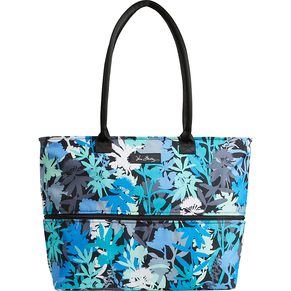 Vera Bradley Lighten Up Expandable Travel Tote - Retired Prints Camofloral - Vera Bradley Fabric Handbags
