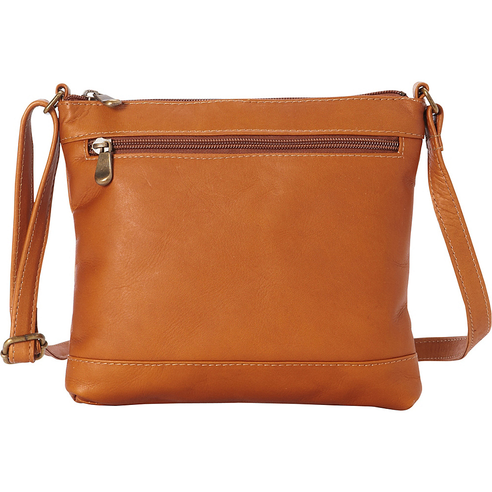 Le Donne Leather Savanna Crossbody Tan - Le Donne Leather Leather Handbags - Handbags, Leather Handbags