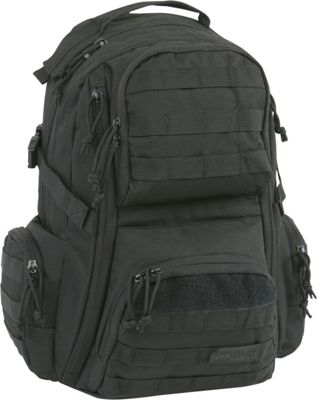 Highland Tactical Crusher Heavy Duty Tactical Backpack Black - Highland Tactical Tactical