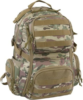 Highland Tactical Crusher Heavy Duty Tactical Backpack Camo - Highland Tactical Tactical