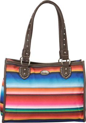 Montana West Serape Small Tote Multi 1 - Montana West Fabric Handbags