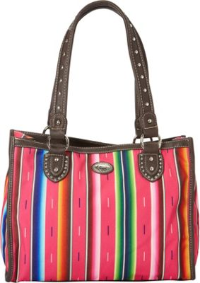 Montana West Serape Small Tote Pink - Montana West Fabric Handbags