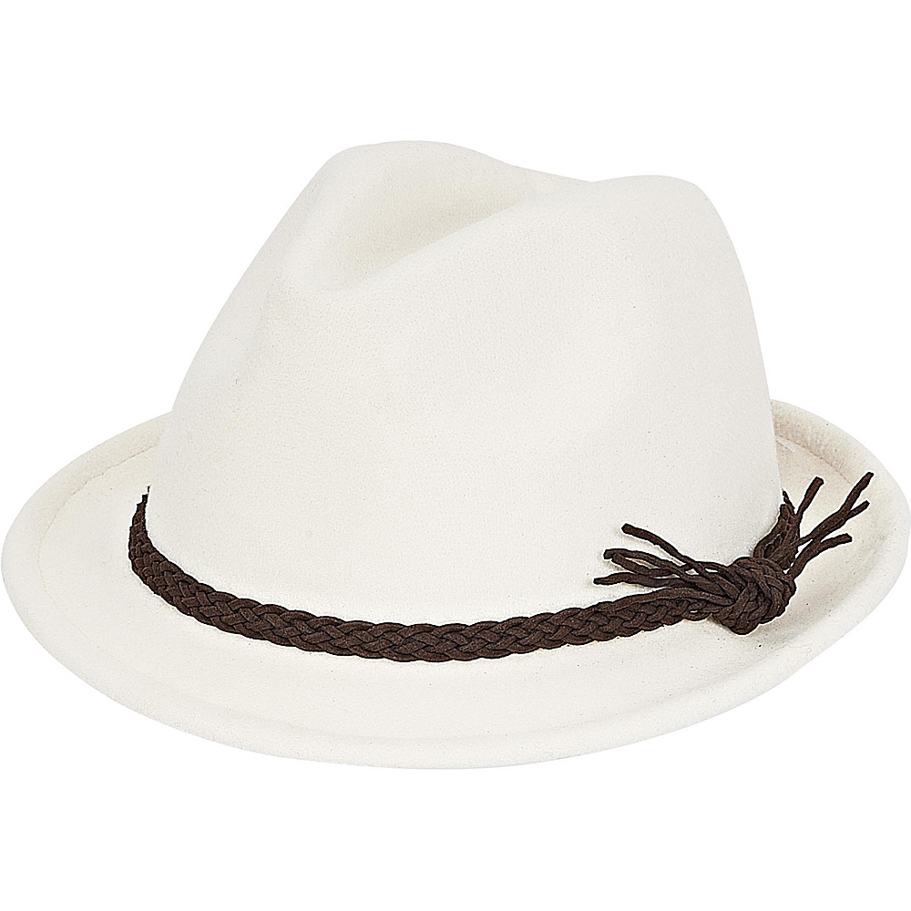Adora Hats Fashion Fedora Hat Ivory Adora Hats Hats Gloves Scarves