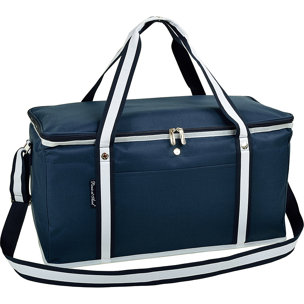 Picnic at Ascot 72 Can Large Folding Collapsible Cooler Navy - Picnic at Ascot Outdoor Coolers - Outdoor, Outdoor Coolers