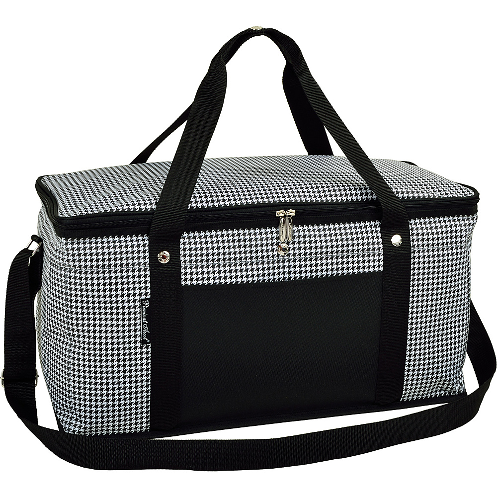 Picnic at Ascot 72 Can Large Folding Collapsible Cooler Houndstooth - Picnic at Ascot Outdoor Coolers - Outdoor, Outdoor Coolers
