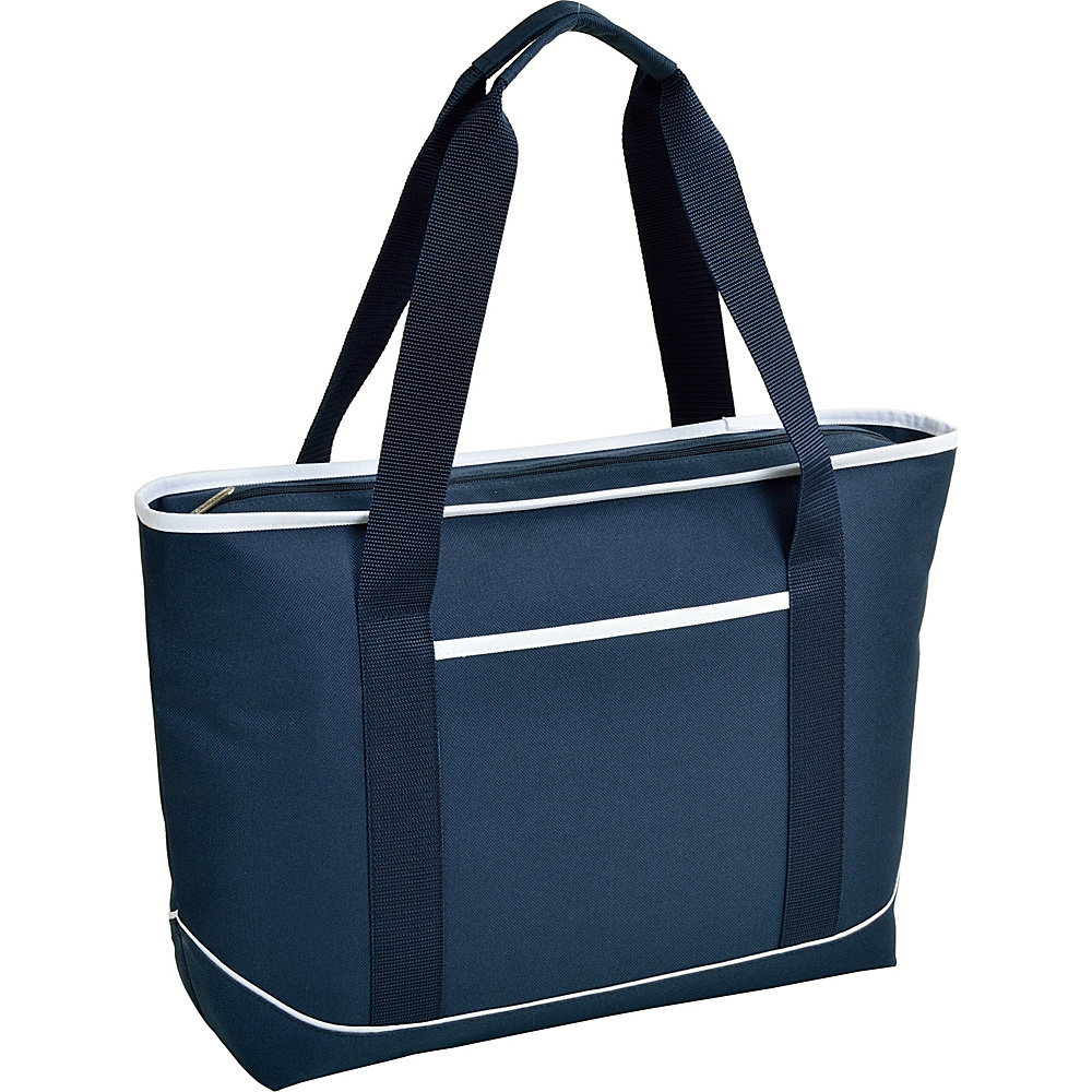 Picnic at Ascot Large Insulated Cooler Bag - 24 Can Tote Navy/White - Picnic at Ascot Outdoor Coolers - Outdoor, Outdoor Coolers