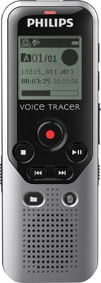 Philips Speech 4GB Voice Tracer 1200 Digital Recorder Silver - Philips Speech Electronic Accessories