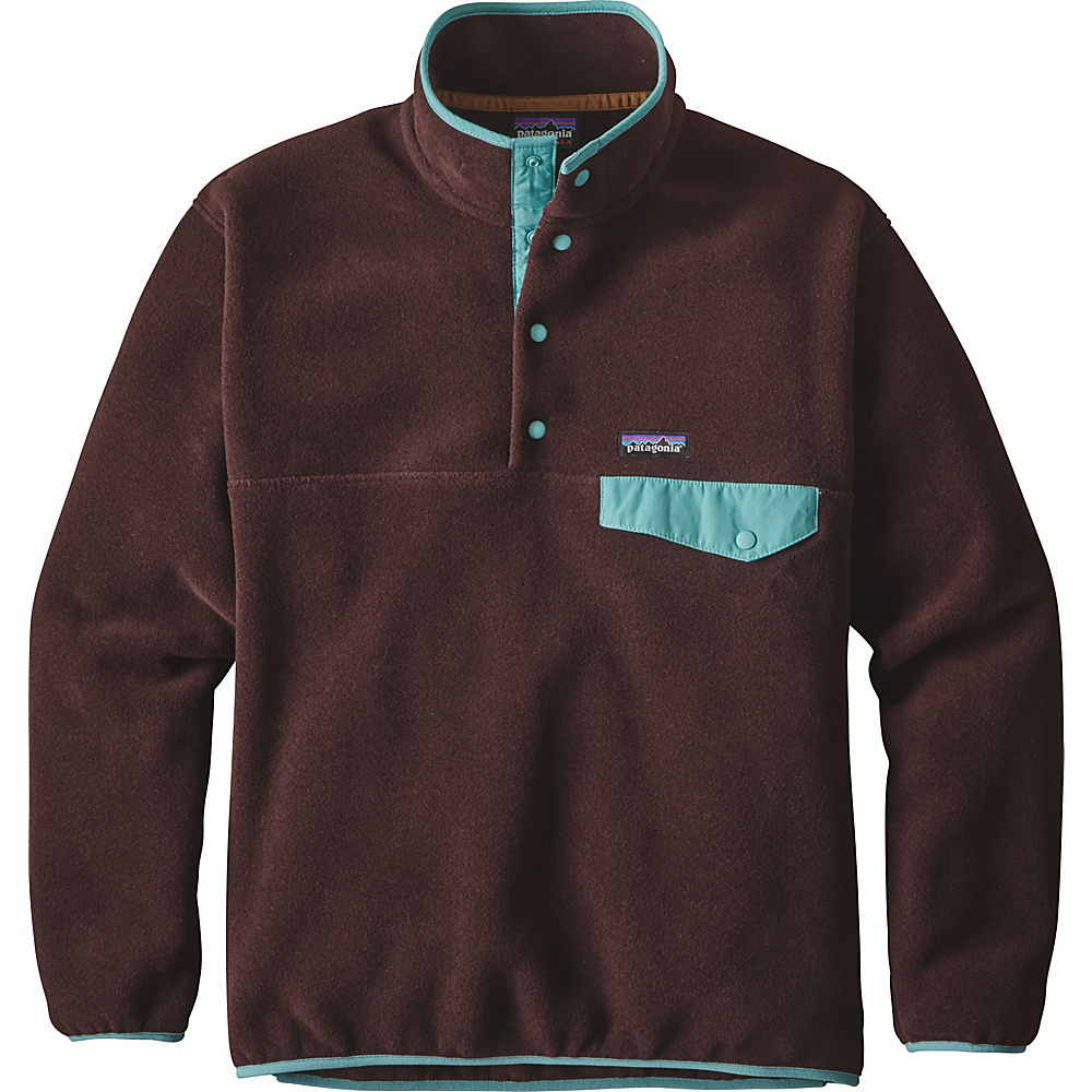 Patagonia Mens Synch Snap-T Pullover XS - Wander Brown - Patagonia Mens Apparel - Apparel & Footwear, Men's Apparel