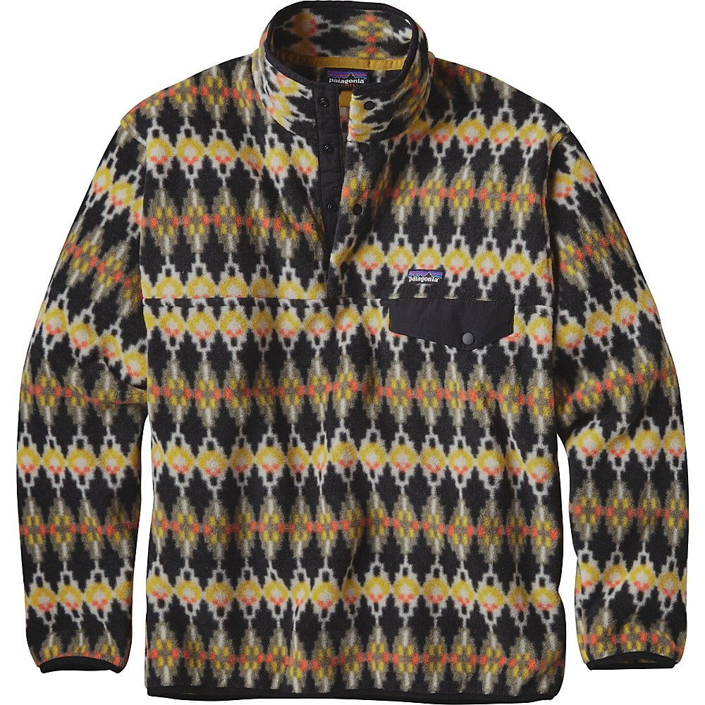 Patagonia Mens Synch Snap-T Pullover XS - Forest Carpet: Industrial Green - Patagonia Mens Apparel - Apparel & Footwear, Men's Apparel