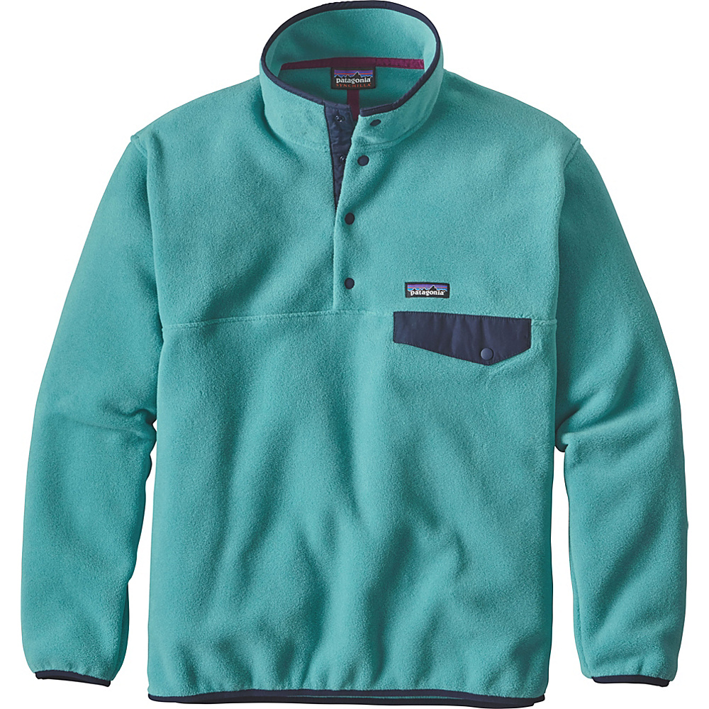 Patagonia Mens Synch Snap-T Pullover XS - Mogul Blue - Patagonia Mens Apparel - Apparel & Footwear, Men's Apparel