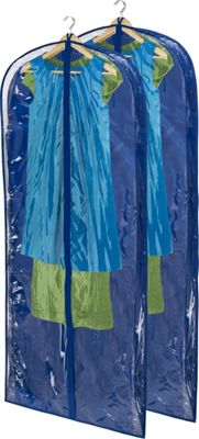 Honey-Can-Do 2-Pack Dress Bag Navy - Honey-Can-Do Garment Bags