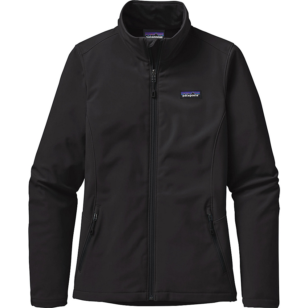 Patagonia Womens Sidesend Jacket S - Black - Patagonia Womens Apparel - Apparel & Footwear, Women's Apparel