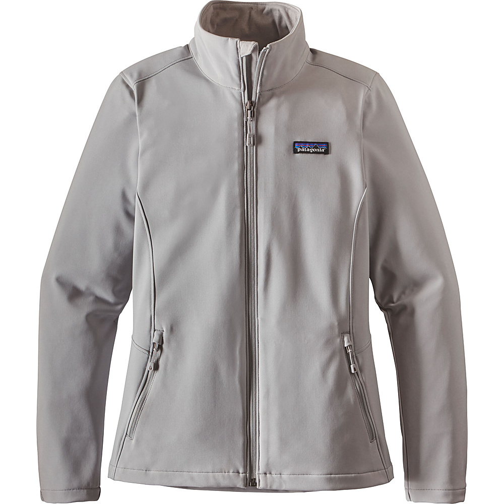 Patagonia Womens Sidesend Jacket S - Drifter Grey - Patagonia Womens Apparel - Apparel & Footwear, Women's Apparel