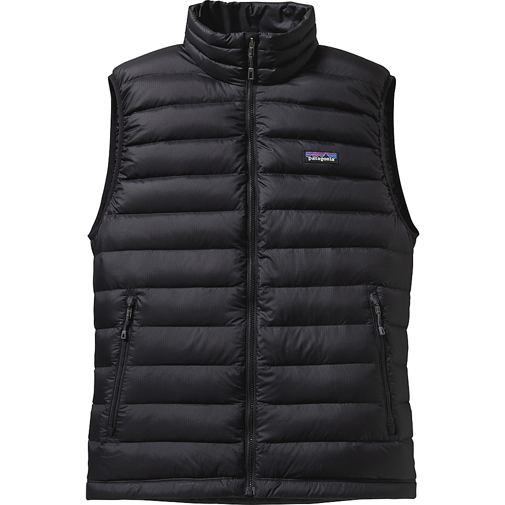 Patagonia Mens Down Sweater Vest S - Black - Patagonia Mens Apparel - Apparel & Footwear, Men's Apparel