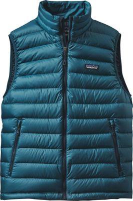 Patagonia Mens Down Sweater Vest XS - Deep Sea Blue - Patagonia Men's Apparel