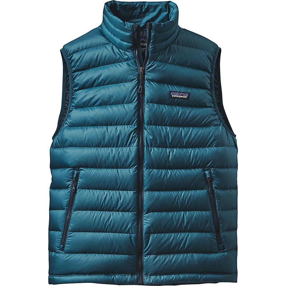 Patagonia Mens Down Sweater Vest XS - Deep Sea Blue - Patagonia Mens Apparel - Apparel & Footwear, Men's Apparel