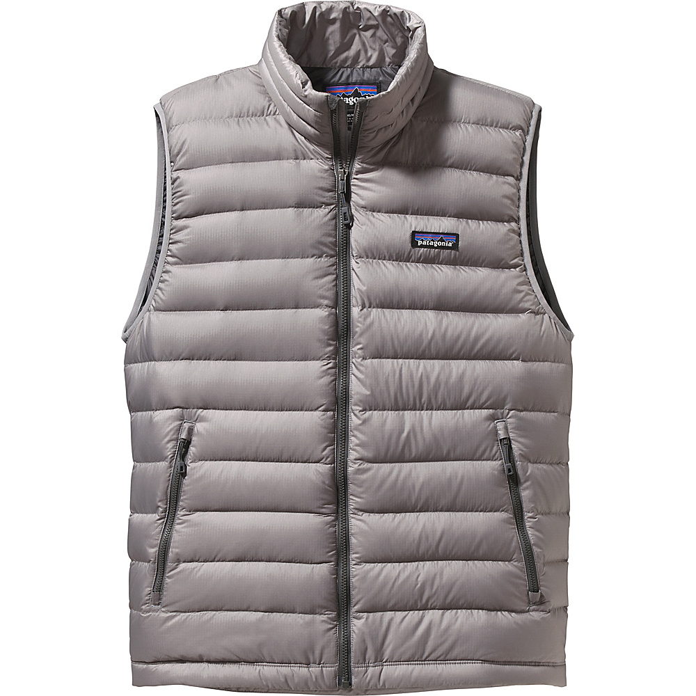 Patagonia Mens Down Sweater Vest XS - Feather Grey - Patagonia Mens Apparel - Apparel & Footwear, Men's Apparel