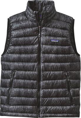 Patagonia Mens Down Sweater Vest XS - Forestland: Black - Patagonia Men's Apparel