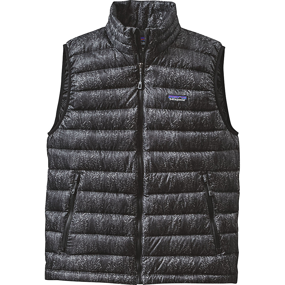 Patagonia Mens Down Sweater Vest XS - Forestland: Black - Patagonia Mens Apparel - Apparel & Footwear, Men's Apparel