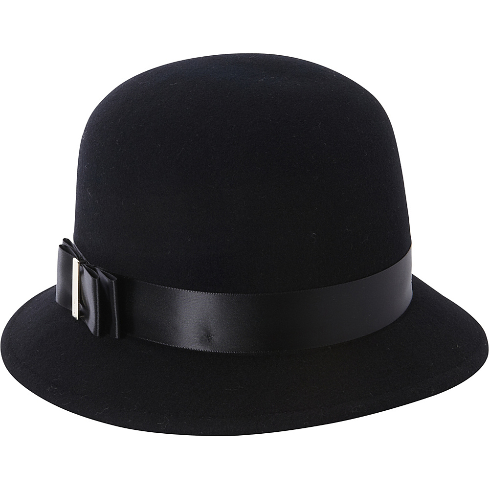 Betmar New York Mary Cloche Black - Betmar New York Hats