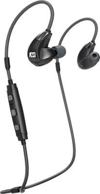 MEE Audio X7 Plus Bluetooth Wireless Sports In-Ear HD Headphones with Memory Wire & Headset Functionality Black/Gray - MEE Audio Headphones & Speakers