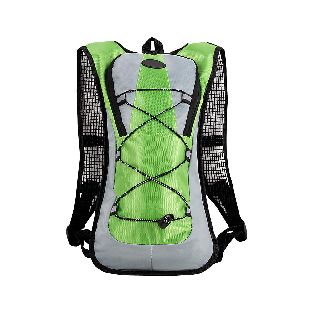 Koolulu Multifunction 2-Liter Hydration Backpack Green - Koolulu Hydration Packs and Bottles