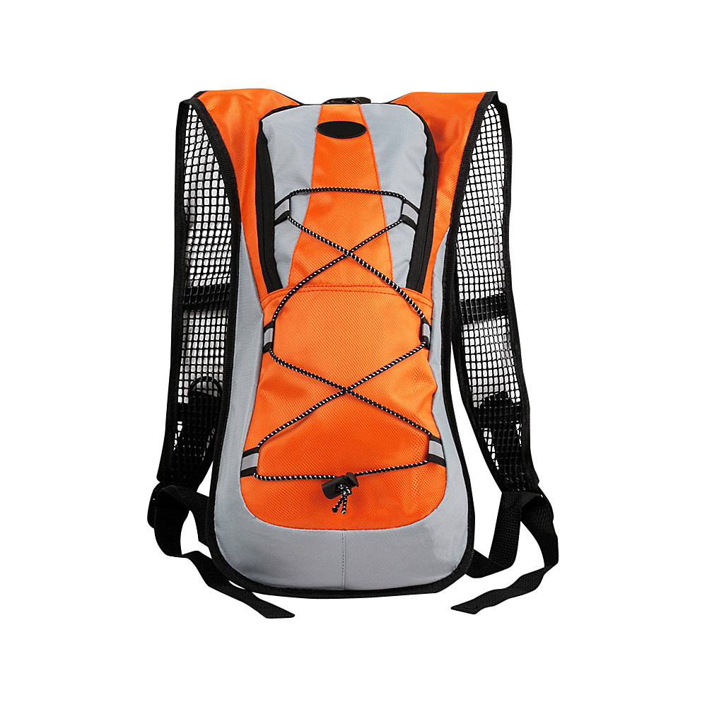 Koolulu Multifunction 2 Liter Hydration Backpack Orange Koolulu Hydration Packs and Bottles