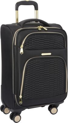 Aimee Kestenberg Florence Collection 20 inch Carry-On Black - Aimee Kestenberg Softside Carry-On