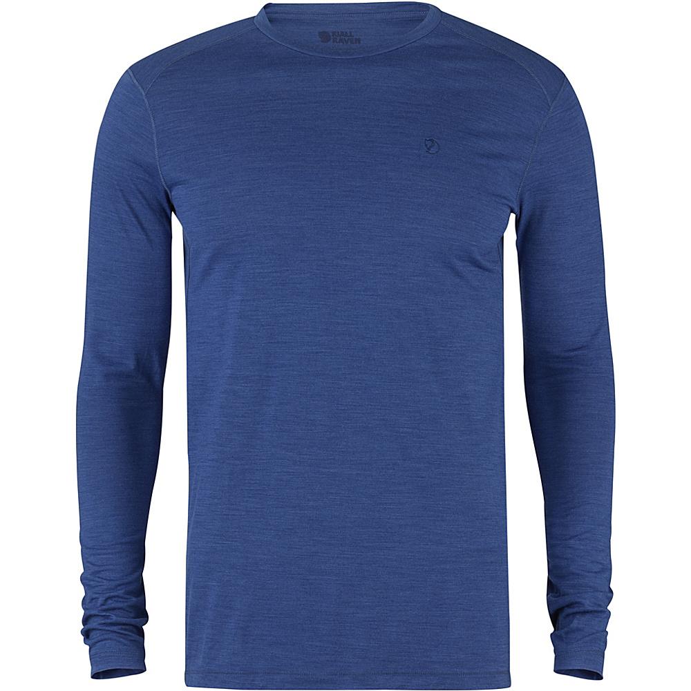 Fjallraven High Coast First Layer LS S - Estate Blue - Fjallraven Mens Apparel - Apparel & Footwear, Men's Apparel