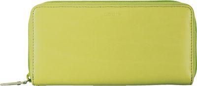 Lodis Audrey Ada Zip Wallet Lime/Dove - Lodis Women's Wallets