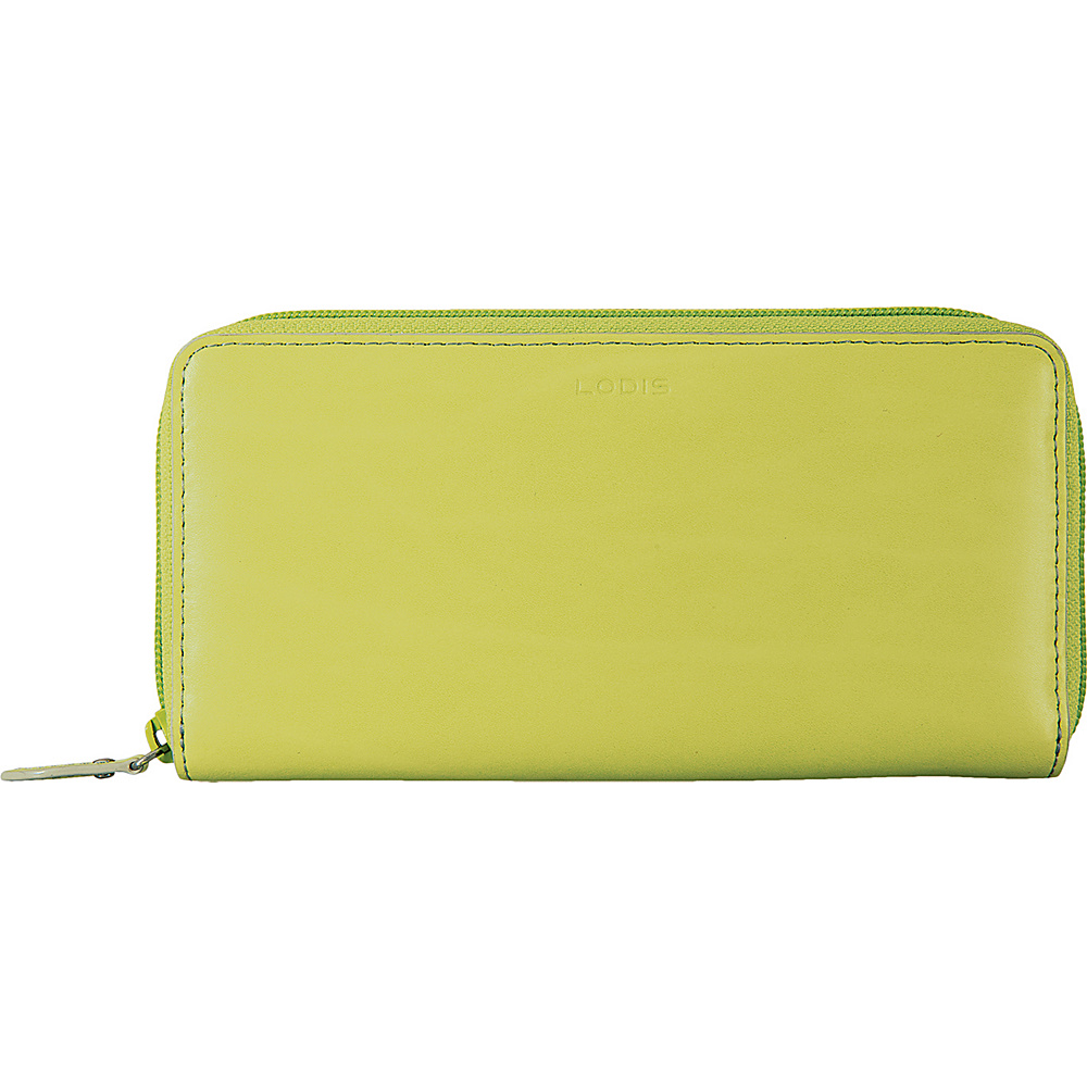 Lodis Audrey Ada Zip Wallet Lime/Dove - Lodis Womens Wallets - Women's SLG, Women's Wallets